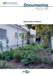 Agricultura Urbana. - Infoteca-e - Embrapa