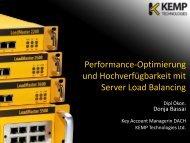 KEMP Server Load Balancing - Infotech