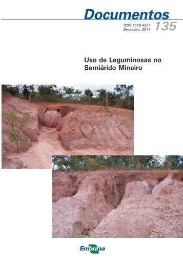 Uso de Leguminosas no Semiárido Mineiro - Infoteca-e - Embrapa