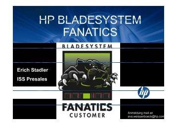 HP BLADESYSTEM FANATICS - Infotech