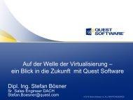 Quest Software - Infotech