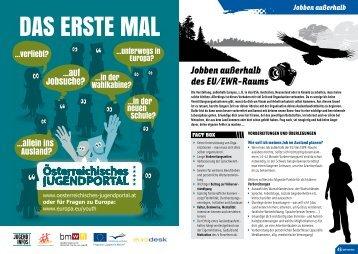 Jobben außerhalb des EU/EWR-Raums - InfoUP.at