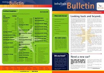 February Issue.p65 - InfraTrain New Zealand
