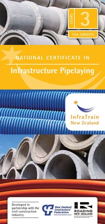 infrastructure Pipelaying - InfraTrain New Zealand