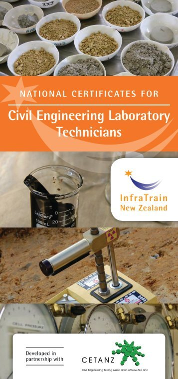 Civil Engineering Laboratory Technicians - InfraTrain New Zealand