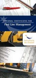 First Line Management - InfraTrain New Zealand