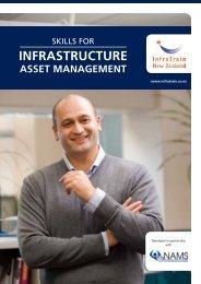Skills for Infrastructure Asset Management - InfraTrain New Zealand