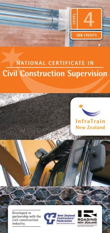 Civil Construction Supervision - InfraTrain New Zealand