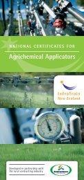 agrichemical applicators - InfraTrain New Zealand