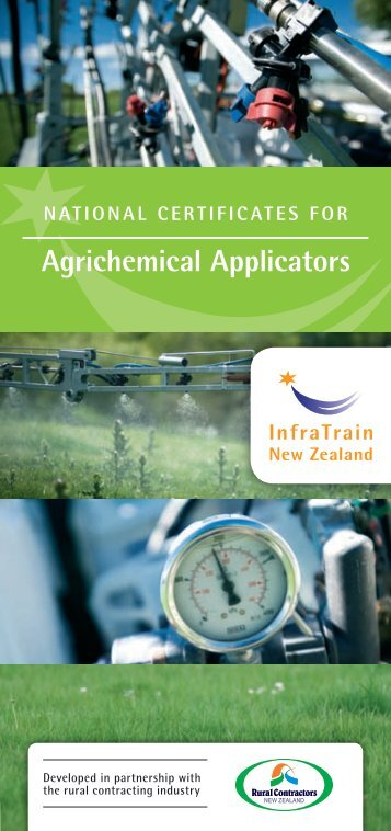 agrichemical applicators - InfraTrain New Zealand