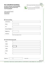 Anmeldeformular - Ingenieurkammer Sachsen