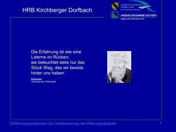HRB Kirchberger Dorfbach