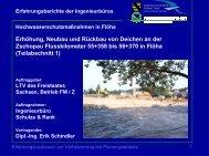 Hochwasserschutz Stadt Flöha