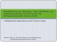Präqualifizierung - Ingenieurkammer Sachsen