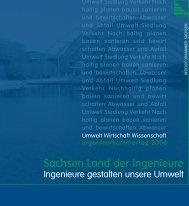Ingenieure gestalten unsere Umwelt - Ingenieurkammer Sachsen