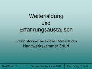 Die neue Meisterprüfung im Installateur- und Heizungsbauer-Handwerk