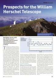 View - Isaac Newton Group of Telescopes