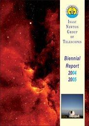 PDF (13.4 M) - Isaac Newton Group of Telescopes - Instituto de ...