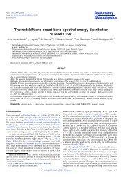 PDF (431.9 KB) - Astronomy & Astrophysics