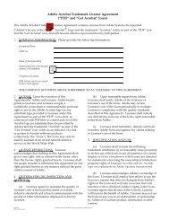 "Adobe Acrobat Trademark License Agreement (""PDF"" and ""Get ..."