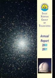 PDF (4.8 M) - Isaac Newton Group of Telescopes - Instituto de ...