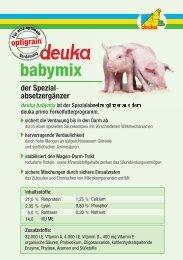 babymix - deuka Deutsche Tiernahrung Gmbh & Co. KG