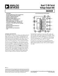 DAC8420 Quad 12-Bit Serial Voltage Output DAC