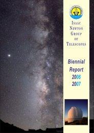 PDF (6M) - Isaac Newton Group of Telescopes - Instituto de ...