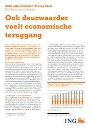 Ook deurwaarder voelt economische teruggang - Ing