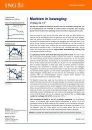 Markten in beweging