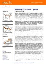 Monthly Economic Update - Ing