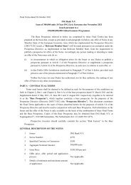 Final Terms dated 14 October 2011 - Ing