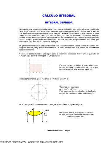 SUMAS PDF DE RIEMANN