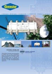 Antenneversterkers KÜBLER Groep 14