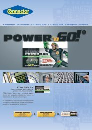 Rechargeable batteries POWERMAN - group 15