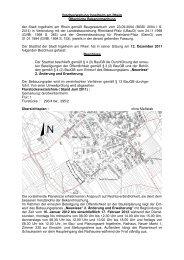 Stadtverwaltung Ingelheim am Rhein Öffentliche Bekanntmachung ...