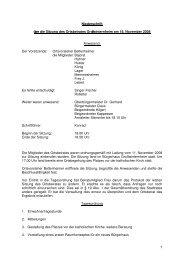 Niederschrift über die Sitzung des Ortsbeirates ... - Ingelheim