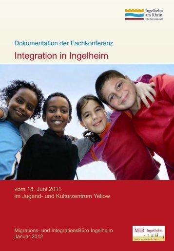 Dokumentation der Fachkonferenz Integration als PDF - Ingelheim