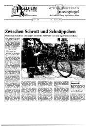 Zwischen Schrott und Schnäppchen - Ingelheim