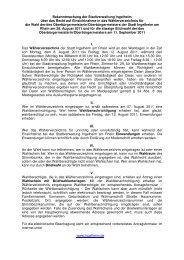 Einsichtnahme Waehlerverzeichnis - Ingelheim