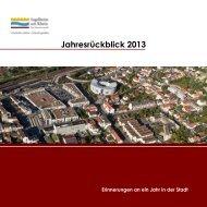 Statistiken zum Jahresrückblick - Ingelheim