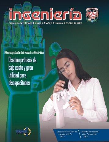 gaceta 6c web - Facultad de Ingeniería - UNAM