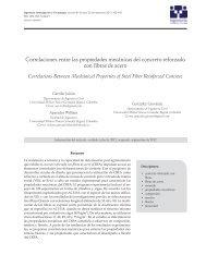 Correlaciones entre las propiedades mecánicas del concreto ...