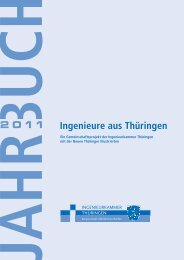 Jahrbuch 2011 - Ingenieurkammer Thüringen