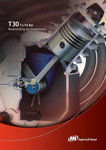 T3011/14 Bar Reciprocating Air Compressors - Nhmr