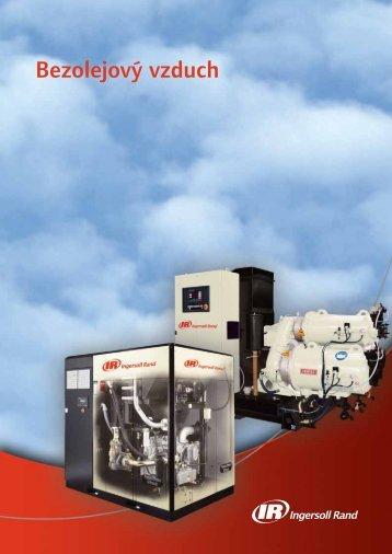 Bezolejový vzduch - Ingersoll Rand