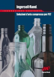 Soluzioni d'aria compressa per PET - Ingersoll Rand