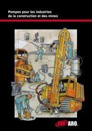 Pompes pour les industries de la construction et ... - Ingersoll Rand