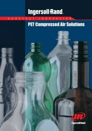 PET Compressed Air Solutions - Ingersoll Rand