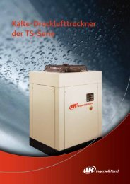 Kälte-Drucklufttrockner der TS-Serie - Ingersoll Rand